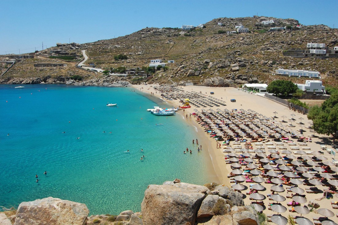 Best Island Beaches For Partying Mykonos St Barts: The Outstanding Super Paradise Beach
